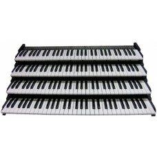 MIDI Organ Pistonless Keyboards