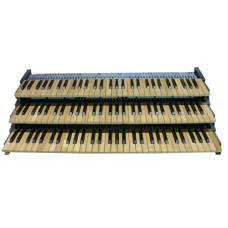 Cherry Wood-Core Pistonless MIDI Keyboards