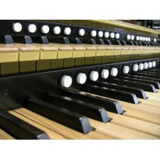 Cherry Wood-Core Classic Pro MIDI Organ Keyboard With 20 Pistons